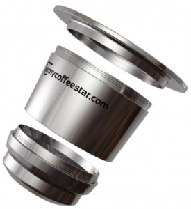capsule caffe acciaio mycoffeestar