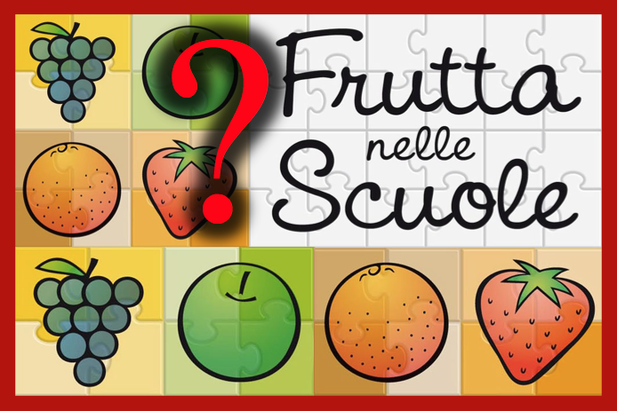 frutta nelle scuole domande