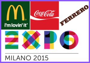 mcdonalds coca cola ferrero expo 2015