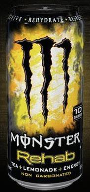monster rehab enerdy drink