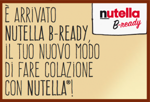 nutella b-ready colazione nutella