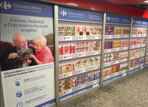 clicca ritira carrefour loreto milano spesa online