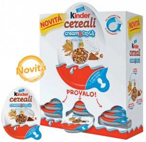 kinder cereali cream crock dispenser