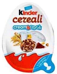 kinder cereali cream crock