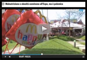report expo corriere mcdonalds
