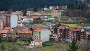 La cittadina di Galdakao, nel nord della Spagna