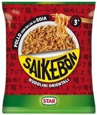 Nodulini Orientali SaiKeBon Star Pollo con salsa di soia