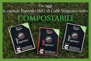 capsule caffe vergnano compostabili