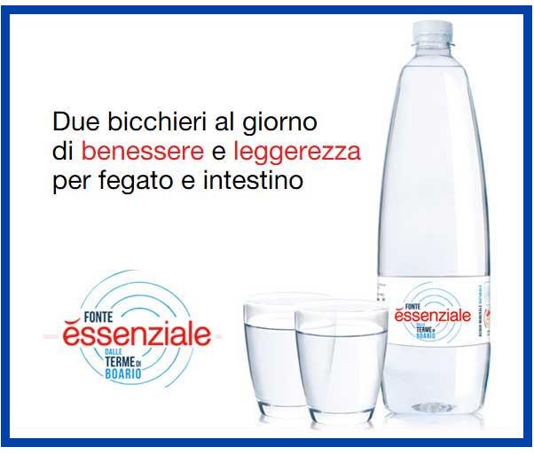 essenziale acqua minerale