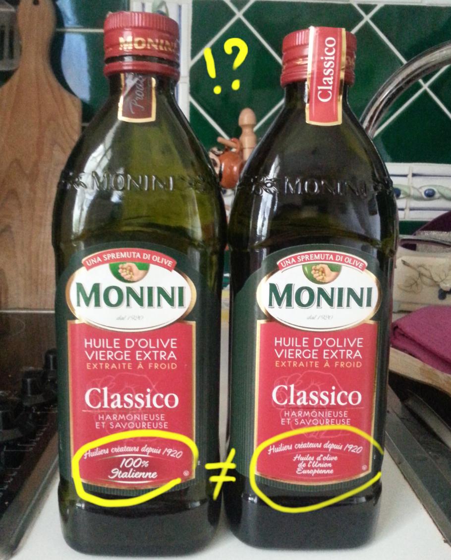 olio monini extra vergine