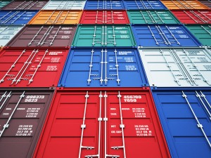 3d image of colorful container
