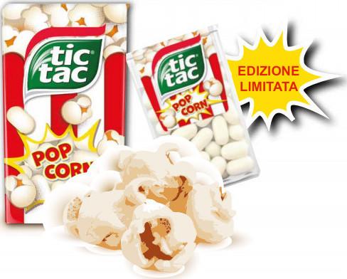 TIC TAC FERRERO edizione limitata pop corn