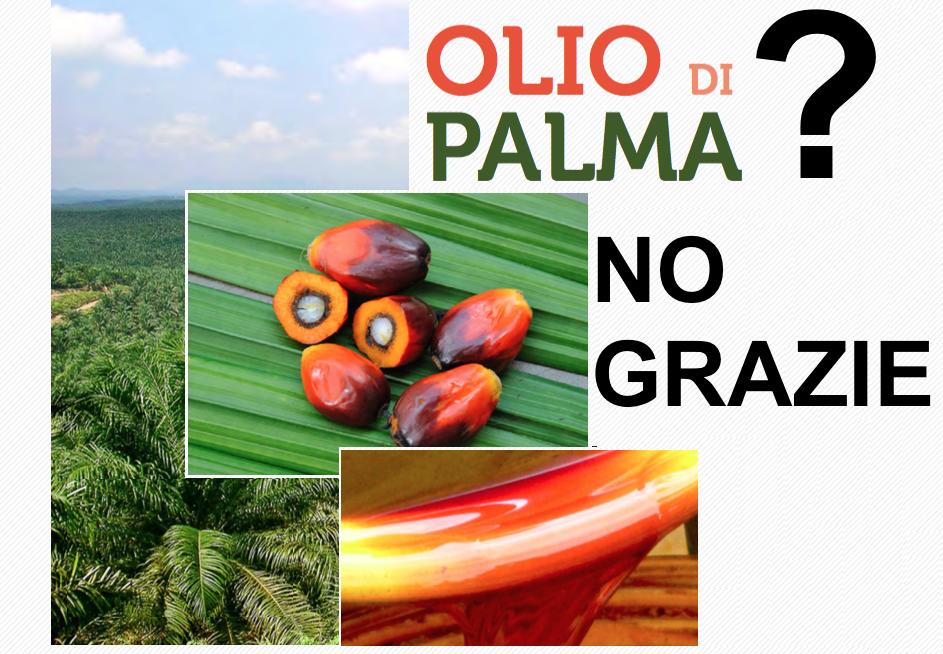 olio di palma no grazie