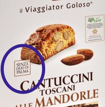 Biscotti Granoro palma free