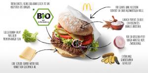 mcb mcdonalds hamburger bio
