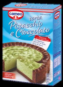 torta cameo pistacchio cioccolato richiamo