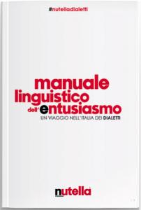 nutella ferrero manuale linguistico