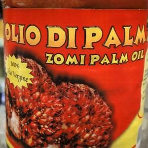 olio di palma zomi ritiro