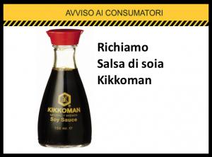 richiamo salsa di soia kikkoman coop