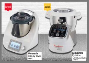robot da cucina bimby moulinex altroconsumo 2015