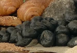 Pane nero carbone