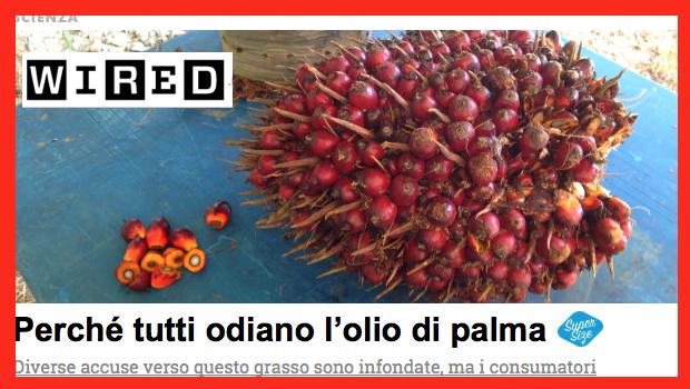 olio di palma wired