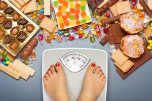 obesità dieta cibo spazzatura liraglutide
