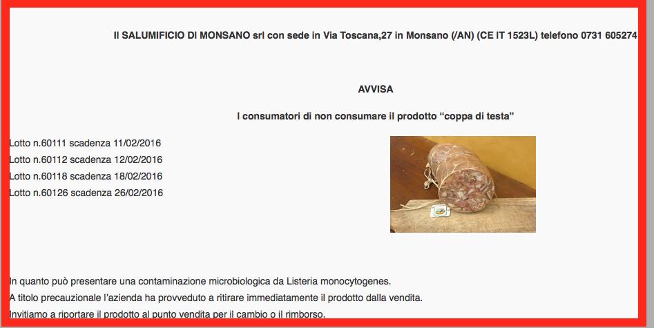 Listeria monsano