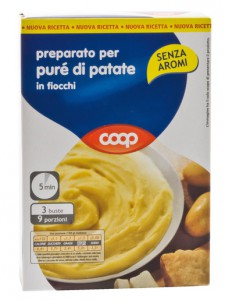 coop pure in fiocchi patate