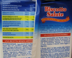 biscotto salute ingredienti panmonviso
