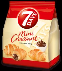 7days mini croissant cacao