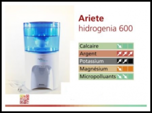 Hidrogenia Ariete dispenser d'acqua
