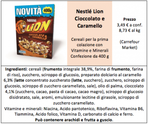 lion cereali