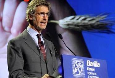 Guido Barilla Presidente BCFN al Barilla 5TH International Forum On Food and Nutrition all'universit‡ Bocconi. Milano, mercoledÏ 27 novembre 2013. ANSA/DANIELE MASCOLO
