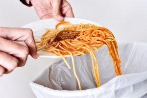 spreco alimentare pasta Francia