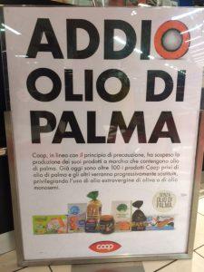 olio di palma Coop