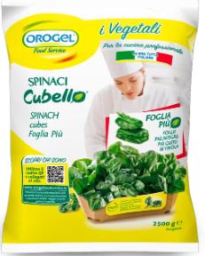 Orogel spinaci cubello richiamo