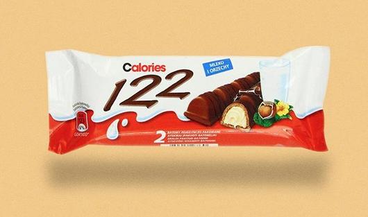 calorie etichette