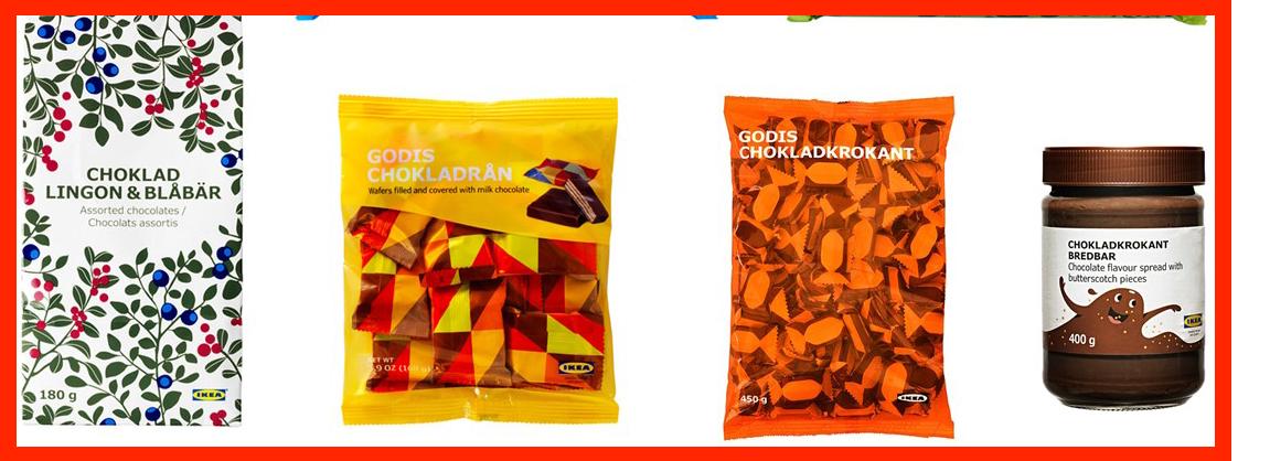 Ikea recall cioccolato