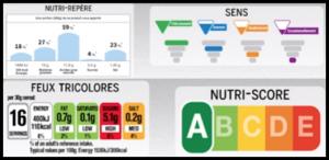 etichette nutrzionali francia