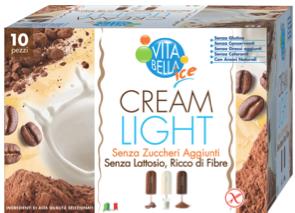 Vita bella cream light gelato senza zuccheri lattosio