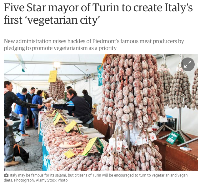 guardian Torino vegan