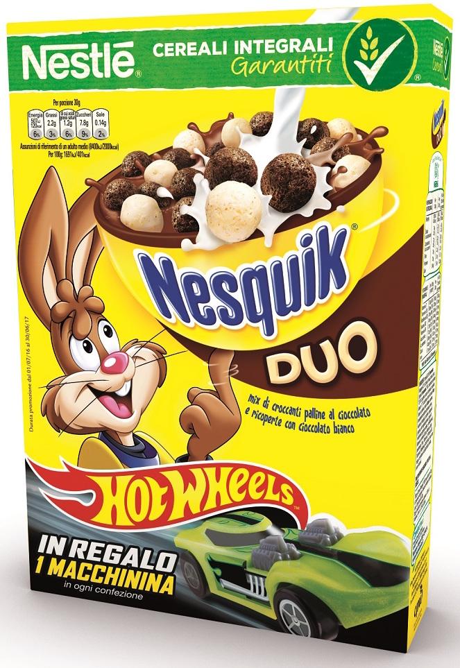 Nestle Hot Wheels Nesquik Duo