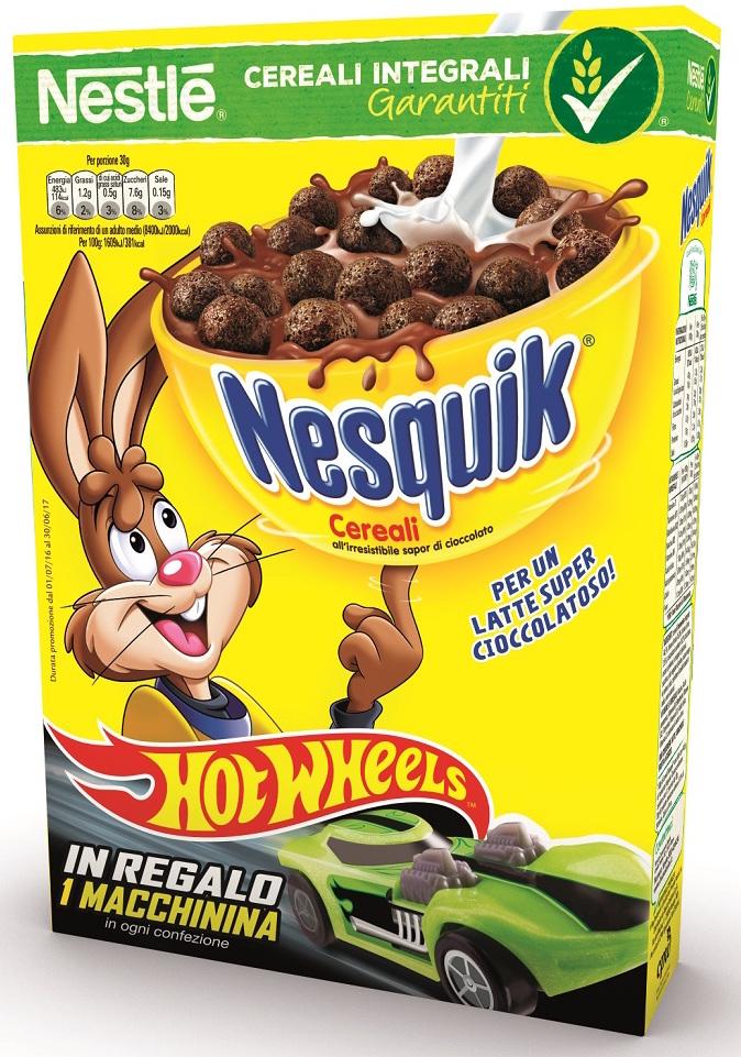 Nestle Hot Wheels Nesquik cereali