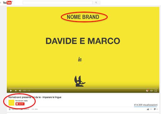 pubblicita youtube