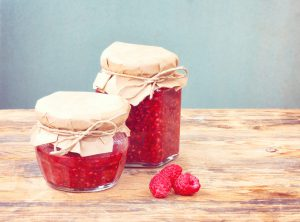 frutta marmellata conserve lamponi