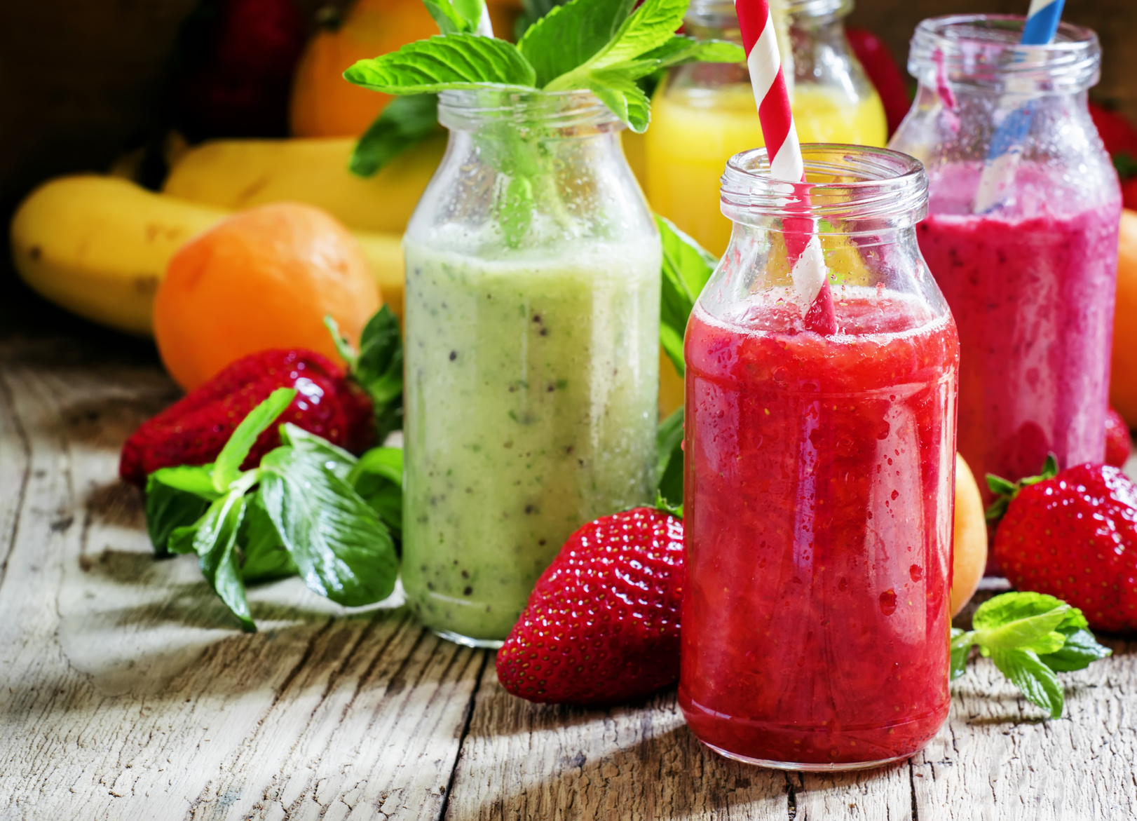 succhi di frutta fragola smoothies