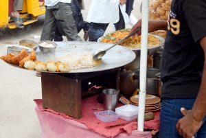 India cibo di strada street food