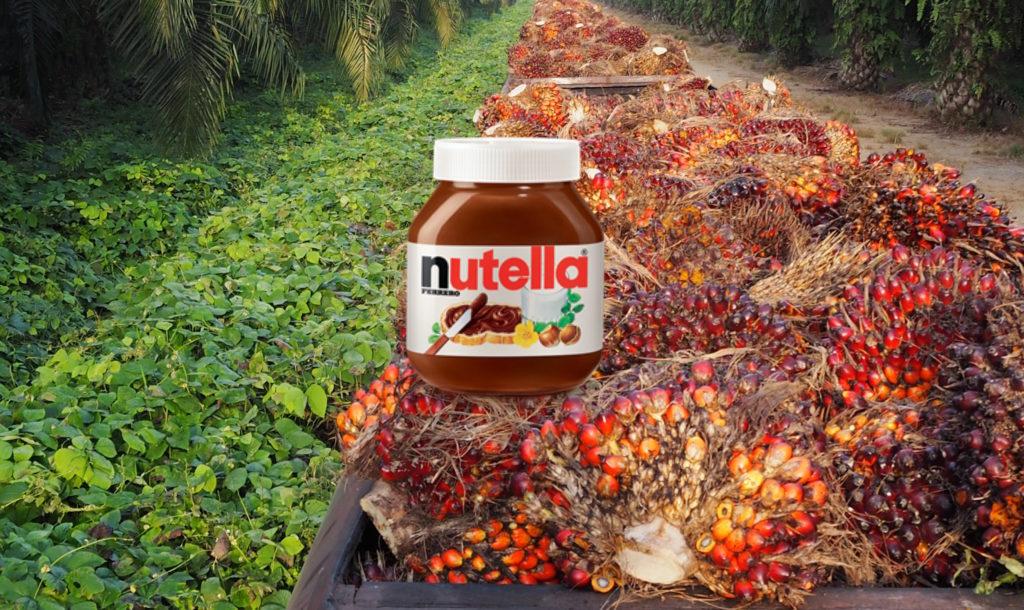 nutella ferrero olio di palma 2016