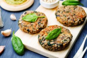 piatti pronti vegani vegetariani burger